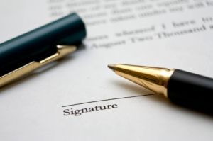 contract-signature
